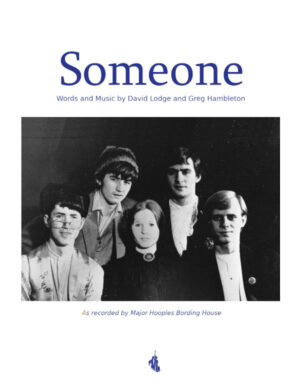 Someone - Sheet Music Cover